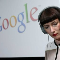 Image of a woman employee at Google used in a blog about MBA jobs for female candidates