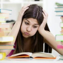A picture showing an MBA aspirant wondering how to prepare differently for different MBA entrance exams.